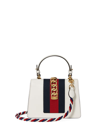 Sylvie Small Top-Handle Satchel Bag
