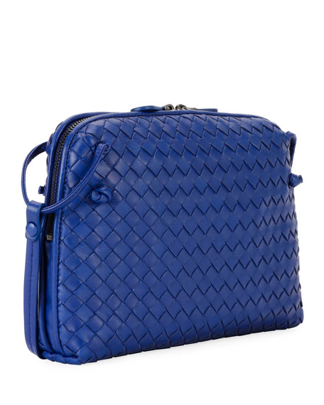 Intrecciato Small Zip Crossbody Bag