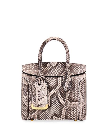 Heroine 21 Mini Rock Python Tote Bag