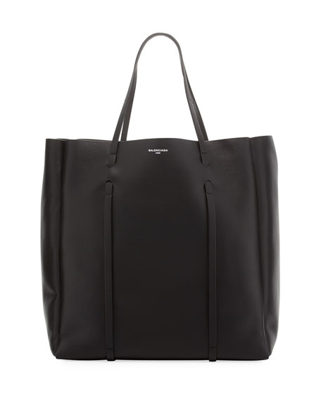 6ba35728c6c Balenciaga Everyday Leather Tote Bag, Black
