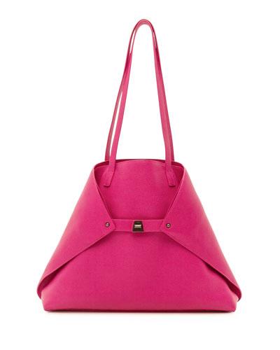 Ai Soft Leather Shoulder Bag