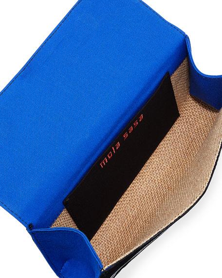 Nibarka Embroidered Clutch Bag, Multi