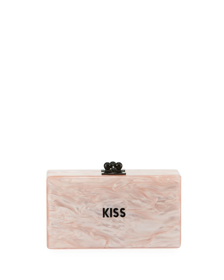 Edie Parker Jean Mini Kiss Clutch Bag