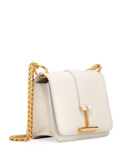 Tara Chain Grain Leather Shoulder Bag