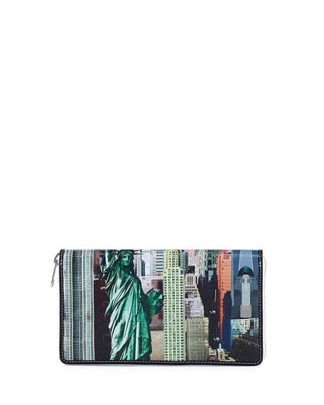 Bazar London Continental Zip Wallet