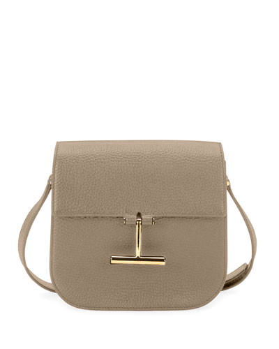 Mini Tara Grained Leather Crossbody Bag