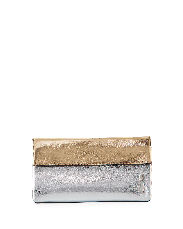Hayward EAST-WEST FOLD-OVER CLUTCH BAG
