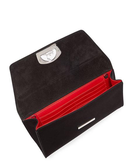 Vero Dodat Satin Clutch Bag