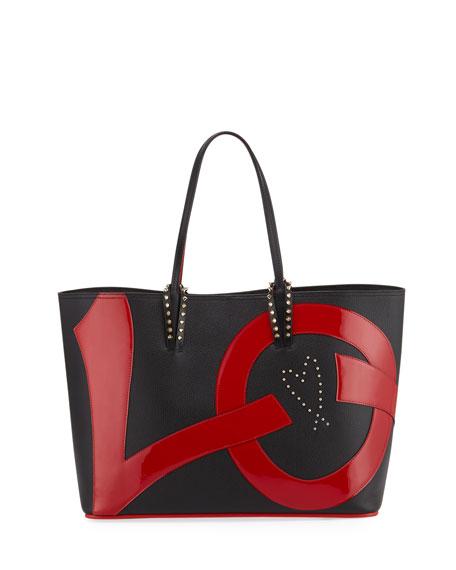 c83a2fdc0a1c Christian Louboutin Cabata Love Calf Empire Paris Tote Bag