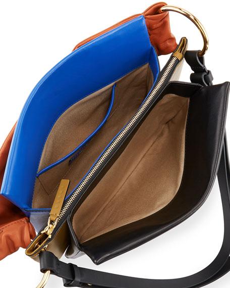 Colorblock Borsa Tracolla Shoulder Bag
