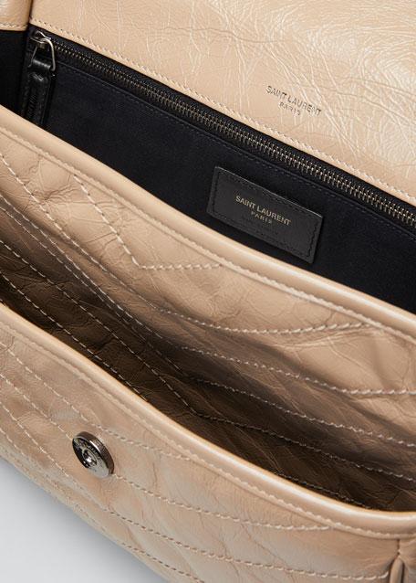 fc435aba Niki Monogram YSL Large Flap Shoulder Bag