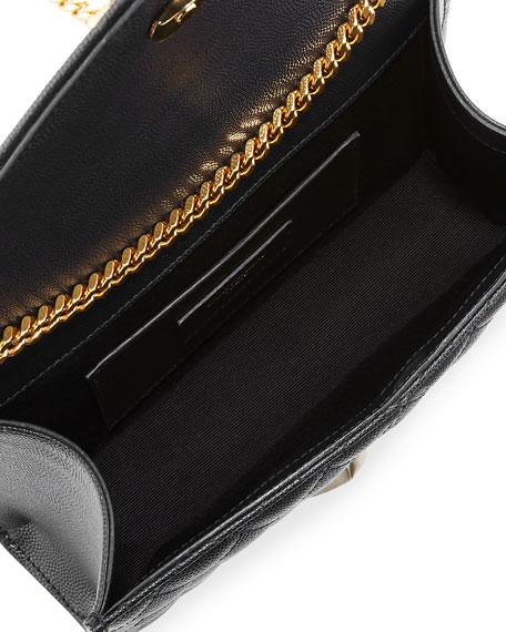 Monogram YSL Envelope Small Chain Shoulder Bag - Golden Hardware