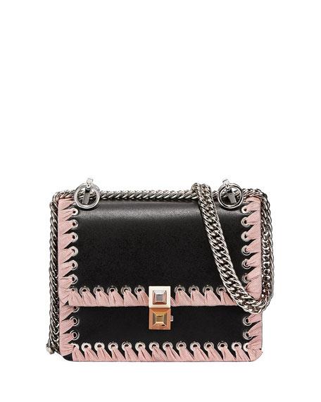 1f5d6010ba Kan I Ribbon Whipstitch Small Shoulder Bag