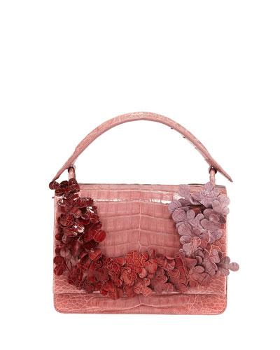 Divino Small Floral Shoulder Bag