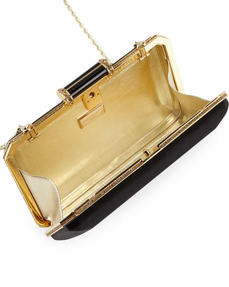 Soho Satin Clutch Bag