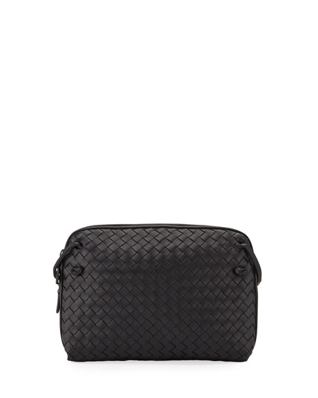Nodini Small Intrecciato Leather Shoulder Bag