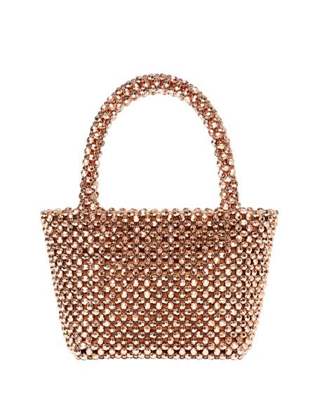 Mina Beaded Tote Bag