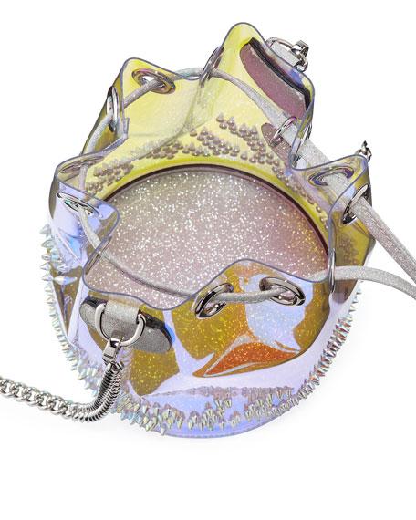 Marie Jane Mini GlitterSunset PVC Bucket Bag