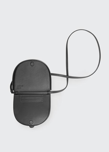Heel Mini Horseshoe Crossbody Bag