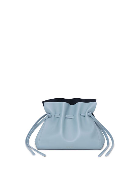 Image 1 of 1: Protea Mini Leather Bucket Bag