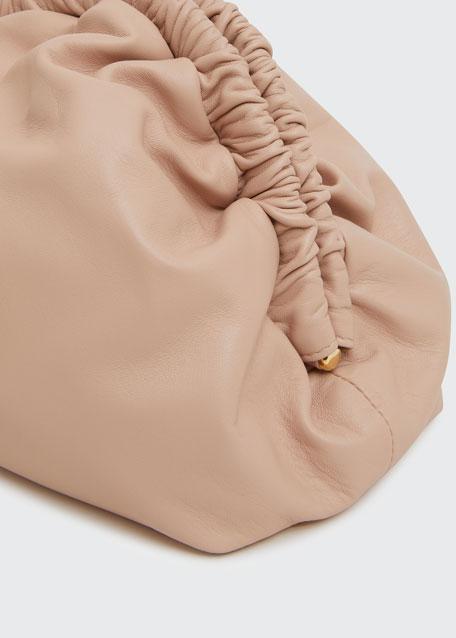 Soft Ruffled Clutch Bag