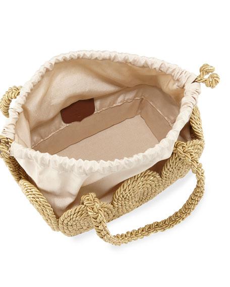 Cha Cha Rope Square Tote Bag