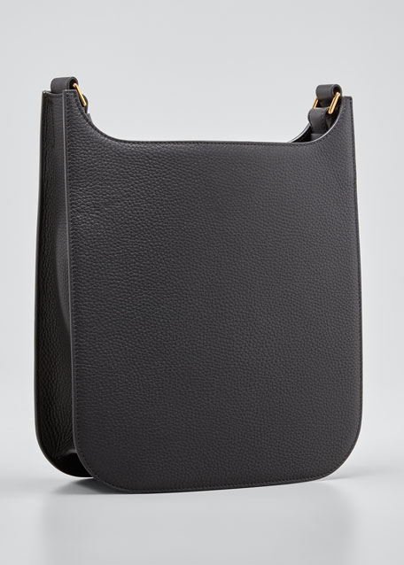 Rialto Medium Grain Leather Crossbody Bag