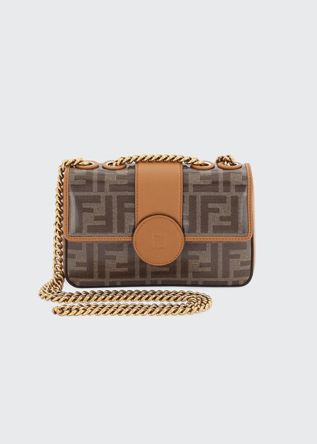 Image 1 of 1: 1974 Small Calf Grace FF Crossbody Bag