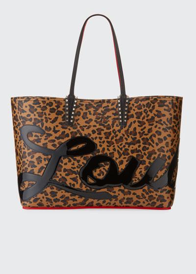 Cabata Logo Calf Empire Tote Bag