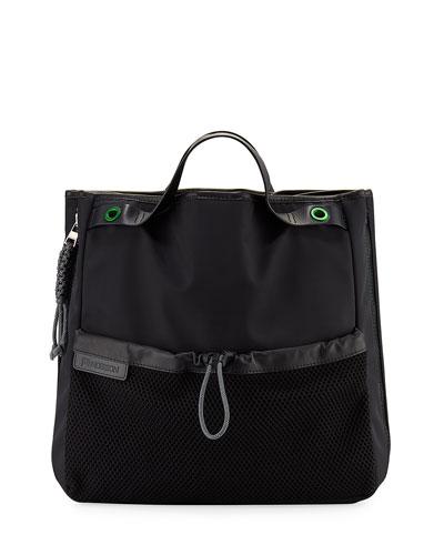 Nylon Puffer Tote Bag