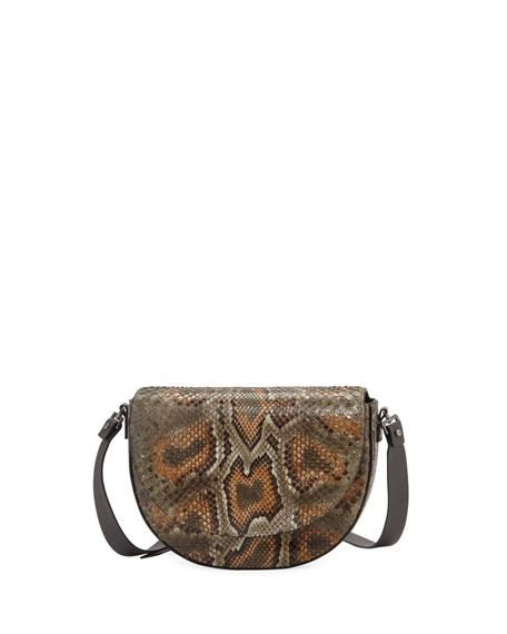 Image 1 of 1: Python Crossbody Bag
