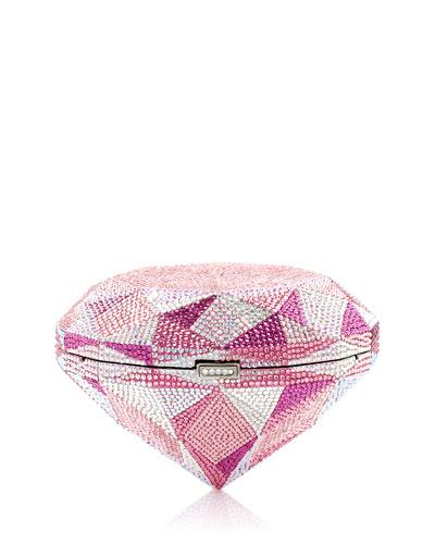 Pink Diamond Clutch Bag