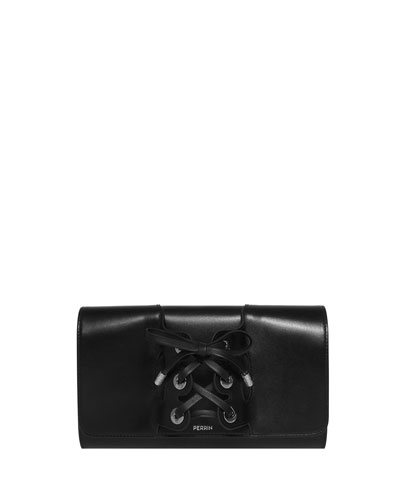Le Corset Calfskin Clutch Bag