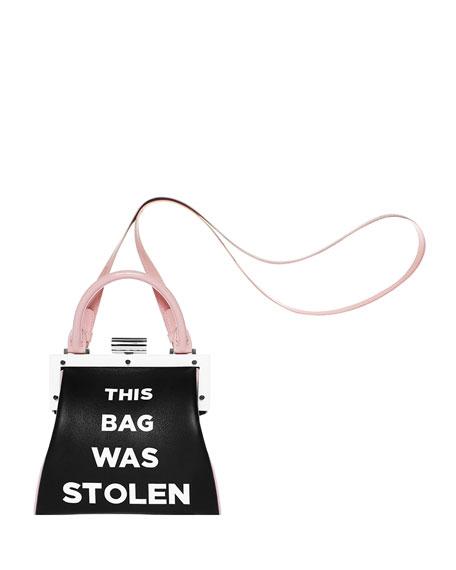 Le Mini Attelage Printed Top Handle Bag