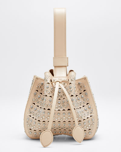 Rose Marie Mini Cuir Lux Vienne Bucket Bag