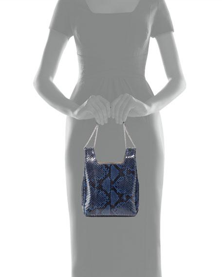 Shiny Python Chain Tote Bag