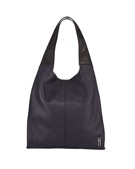 Grand Pebbled Shopper Tote Bag