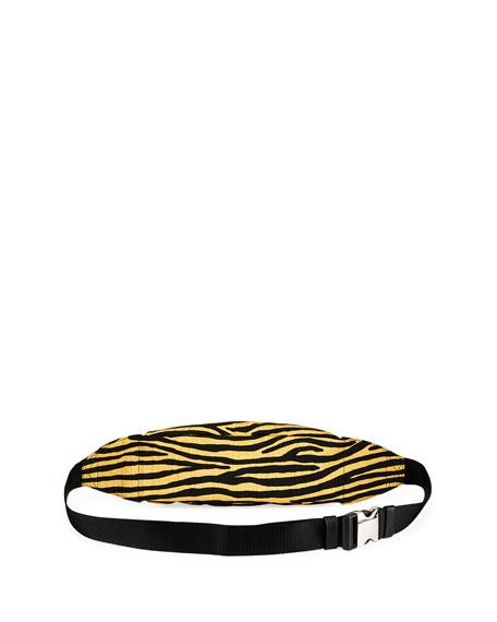 Tiger-Striped Tech Belt Bag