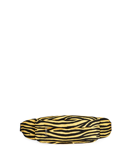 Image 1 of 1: Tiger-Striped Tech Belt Bag