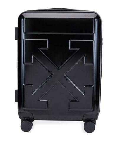 Arrow Hard Shell Spinner Trolly Luggage  Black