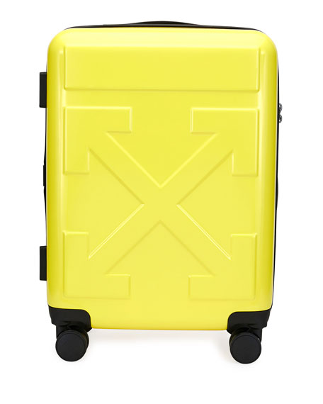 Image 1 of 1: Arrow Hard Shell Spinner Trolly Luggage, Yellow