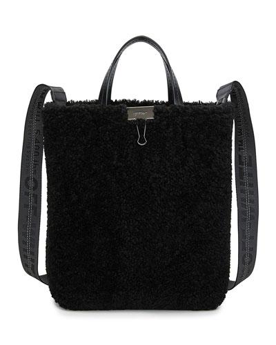 Montone Shearling Tote Bag