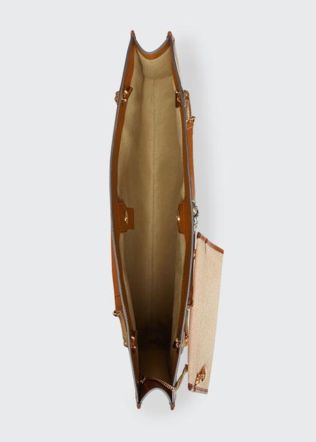 Rajah Large Canvas Tote Bag