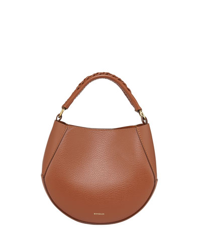 Corsa Mini Leather Top Handle Bag