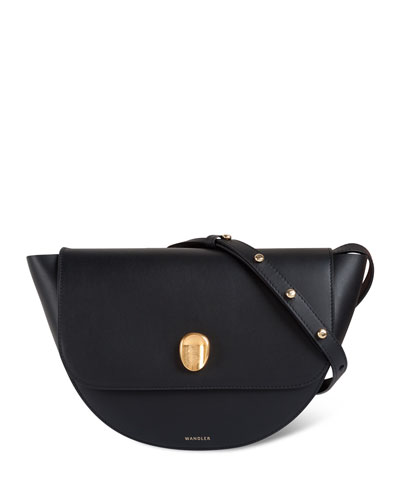 Billy Calf Leather Crossbody Bag