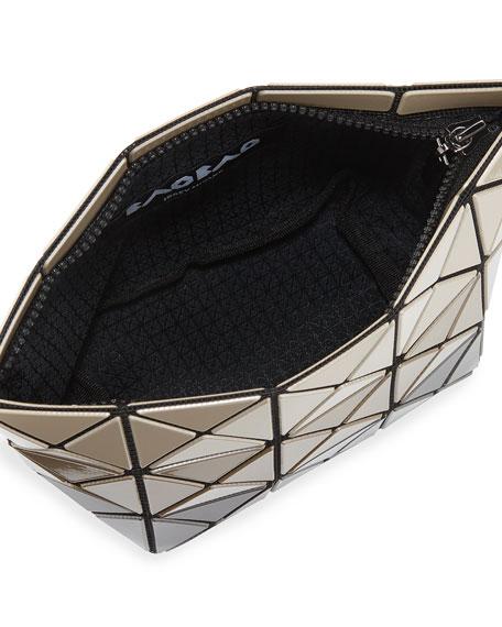 Prism Metallic Stripe Clutch Bag