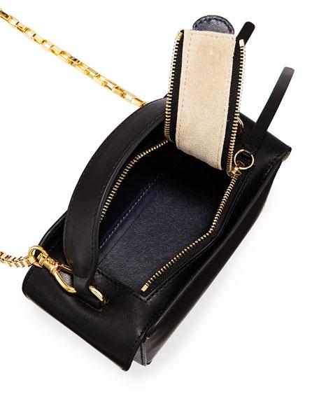 Yara Calf Leather Box Bag
