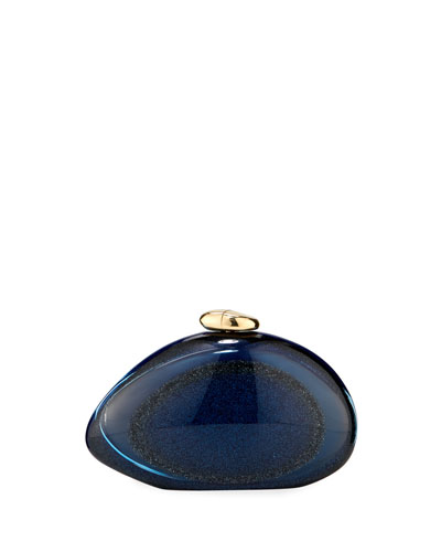 Ariel Cassiopea Smooth Clutch Bag
