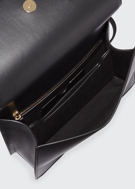Jeweled Studded Satchel Bag