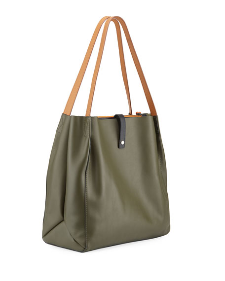 Leather Passenger Tote Bag
